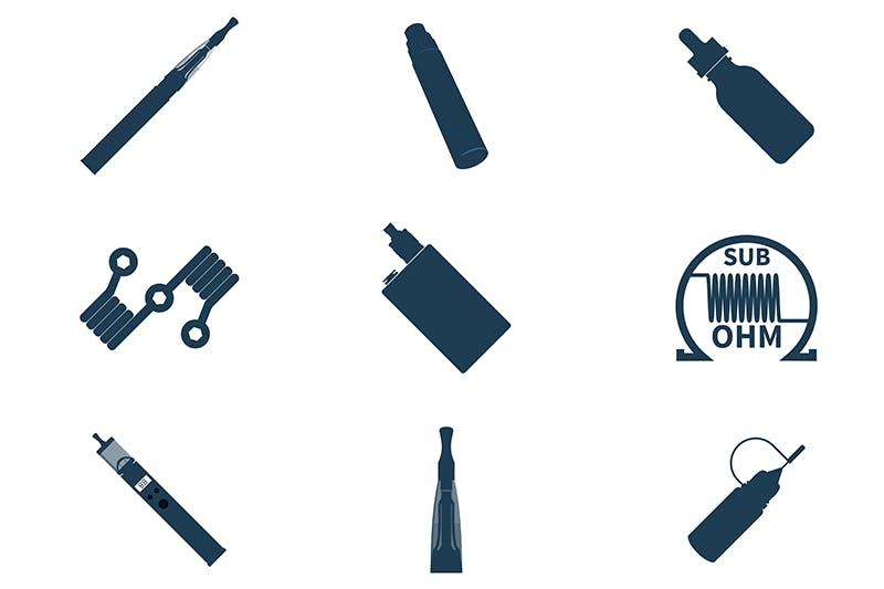 Different vape tools