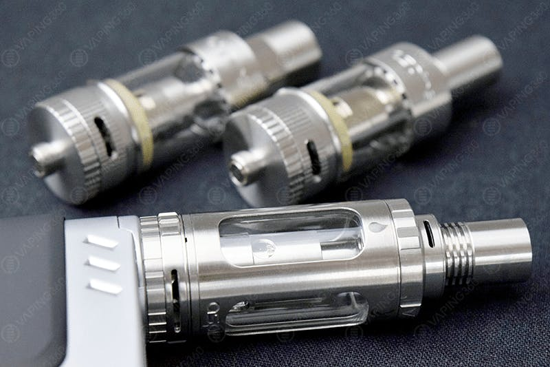 Aspire Atlantis V2 (Top Left), Atlantis (Top Right) and Triton (Bottom)