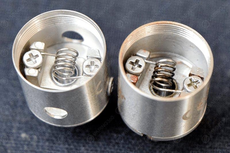 Kanger Subtank Mini (V2) vs. Subtank Mini (V1) RBA Deck