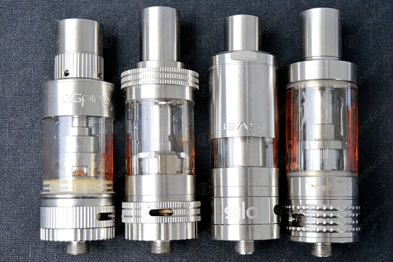 Aspire Atlantis V2, Uwell Crown, Silo Beast and Freemax Starre