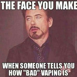 Face you make Vape Meme