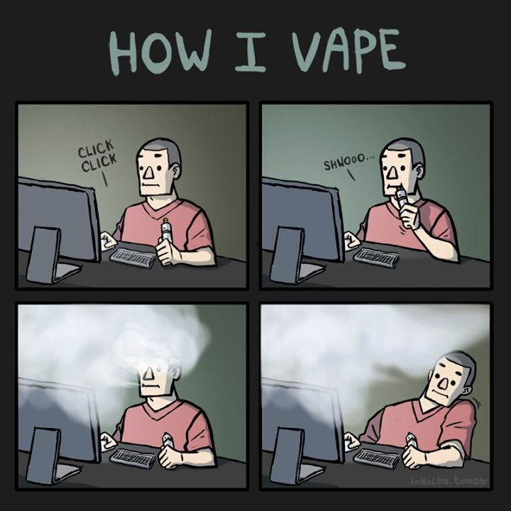 How I Vape Meme