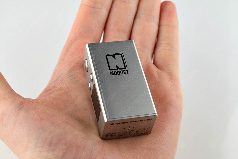 Artery Nugget Mod in Hand