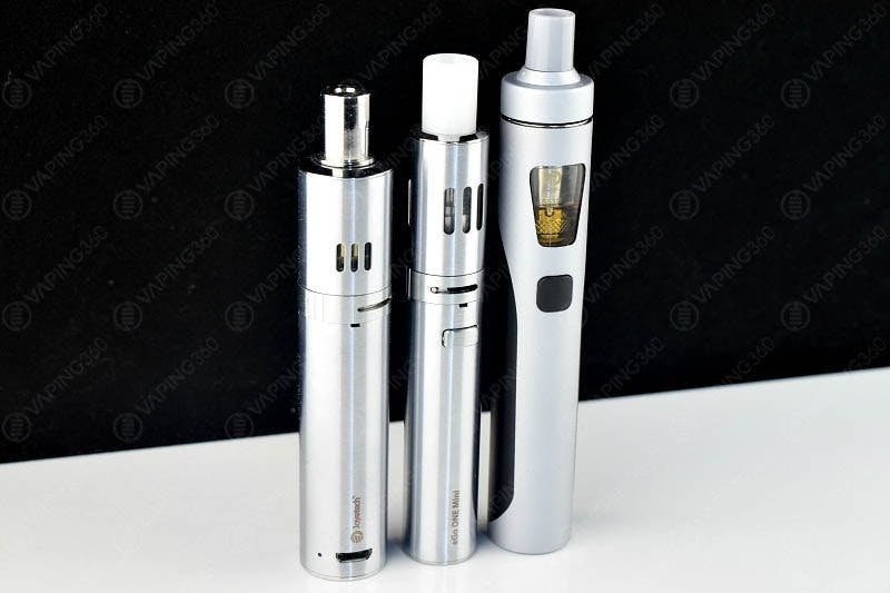 Joyetech eGo AIO Size Comparison to the eGo One & eGo One Mini