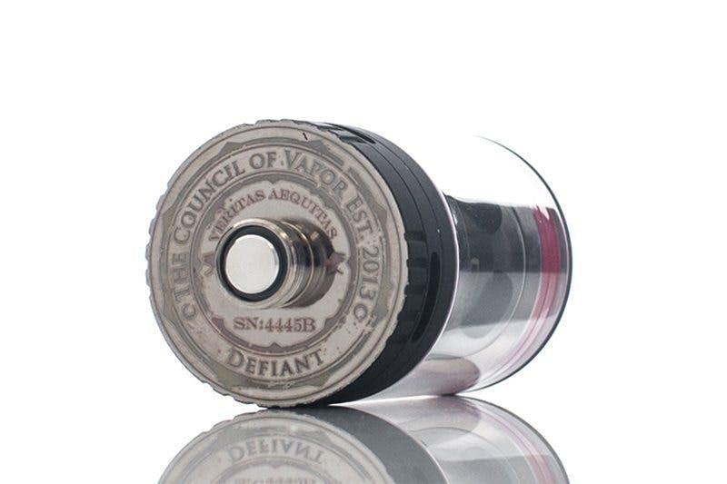 Council of Vapor Defiant Pin