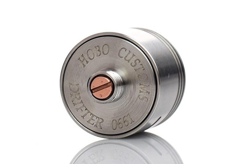 Hobo Customs Drifter RDA Pin-Logo