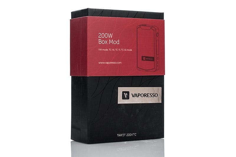 Vaporesso Tarot 200W Packaging