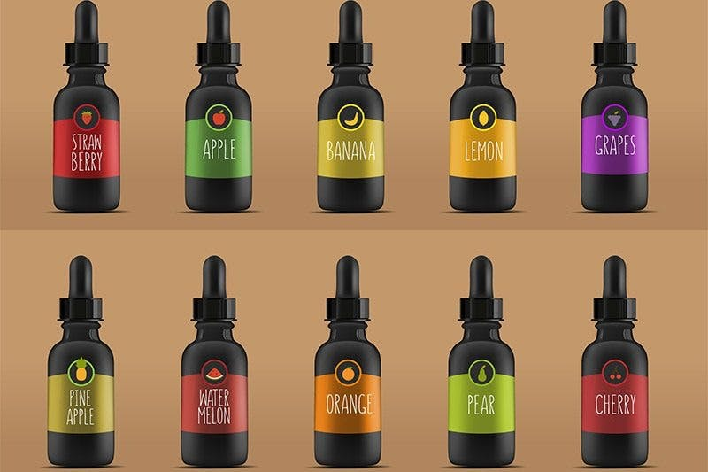E-Liquids Flavors FDA