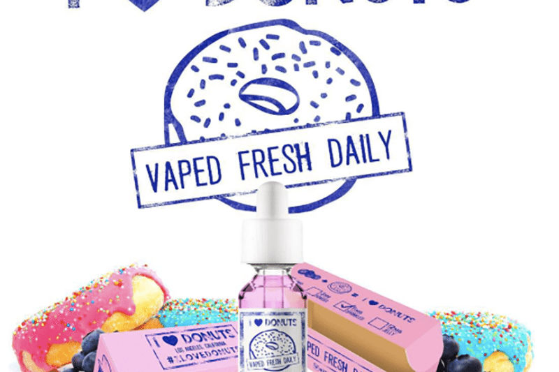 Mad Hatter E-Liquid I Love Donuts