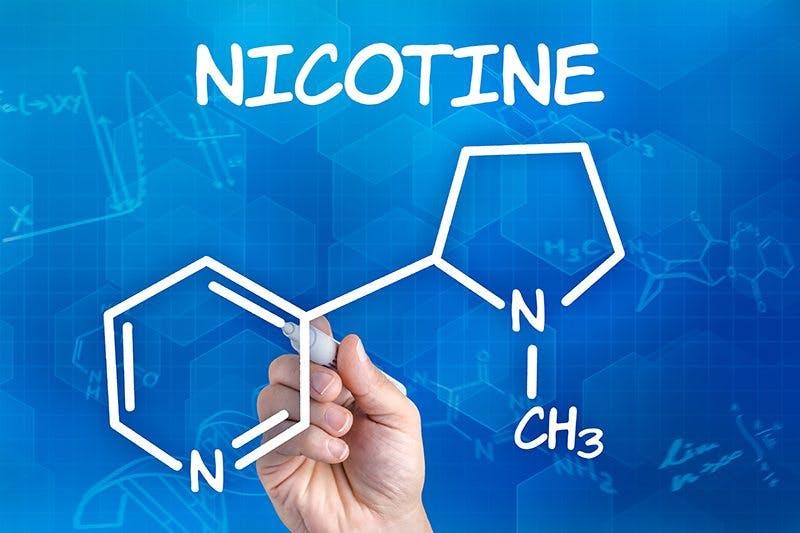 Nicotine Structure