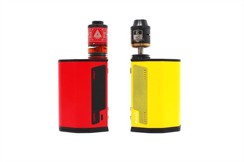iJoy Maxo red and yellow straight