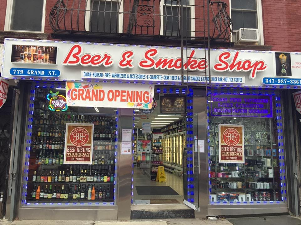 Craft Beer & Smoke Shop