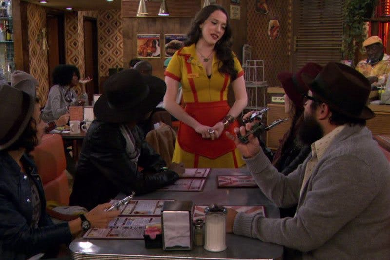 2-Broke-Girls-vaping-scene