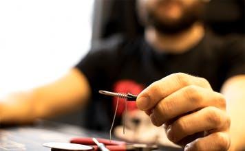man-builds-coil