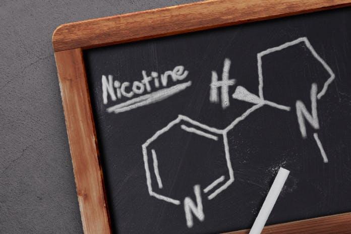 nicotina la droga útil