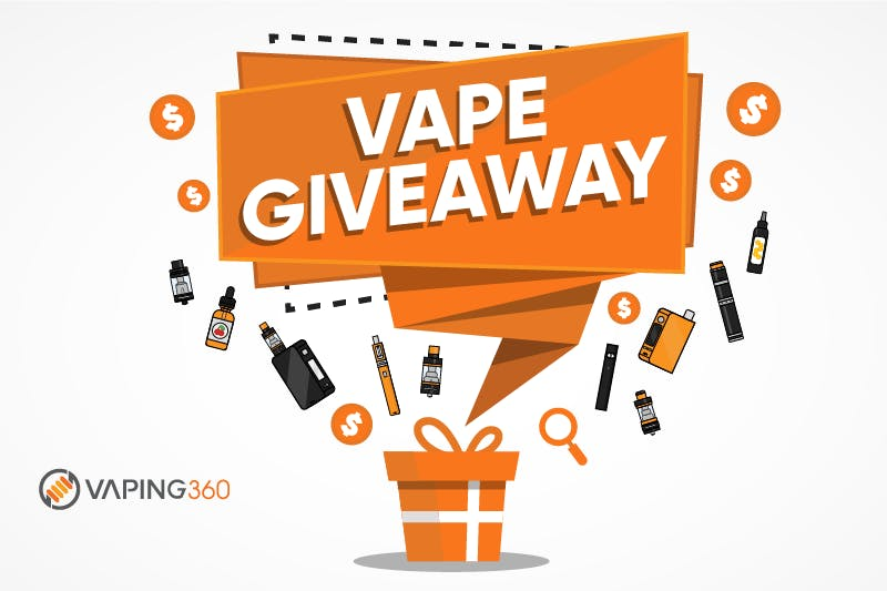 Free Vape Juice and Vape Giveaways