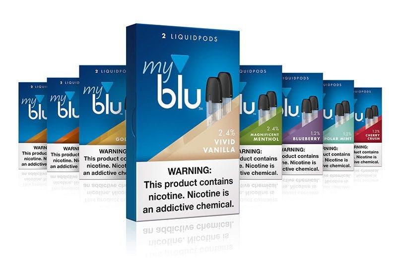Myblu-flavors