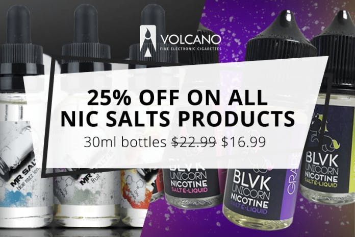 volcano ecigs nicotine salts deal