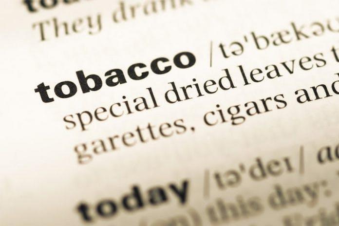 Tobacco-definition