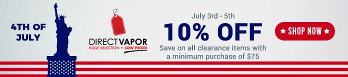 4th july directvapor deal