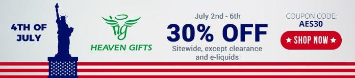 4th july heavengifts deals