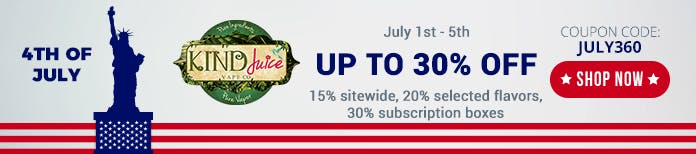 4th july kindjuice sale