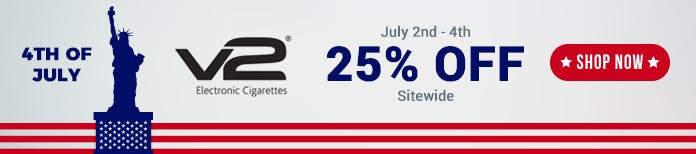 4th July V2cigs vape deal