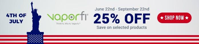 4th July vaporfi deals