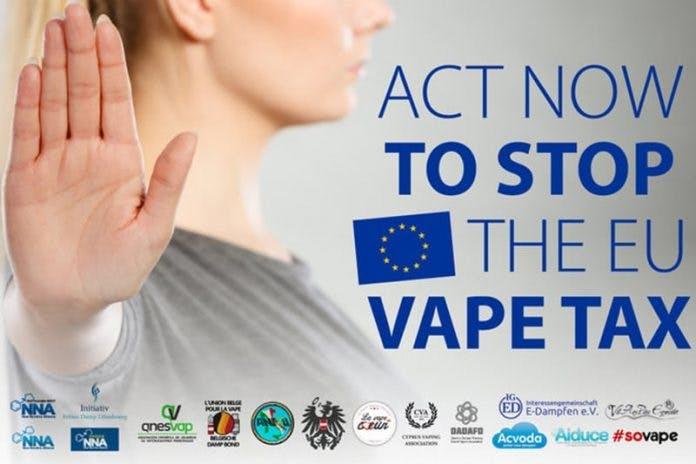 Stop the EU vape tax