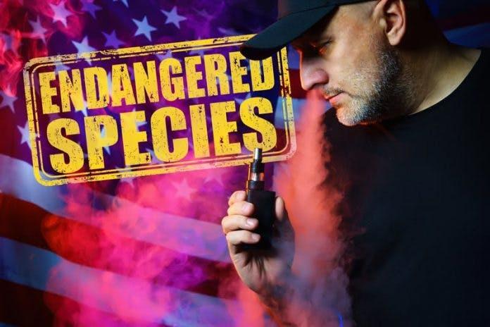 USA vapers endangered