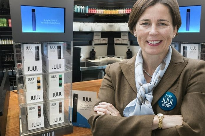 Maura healey support Juul products