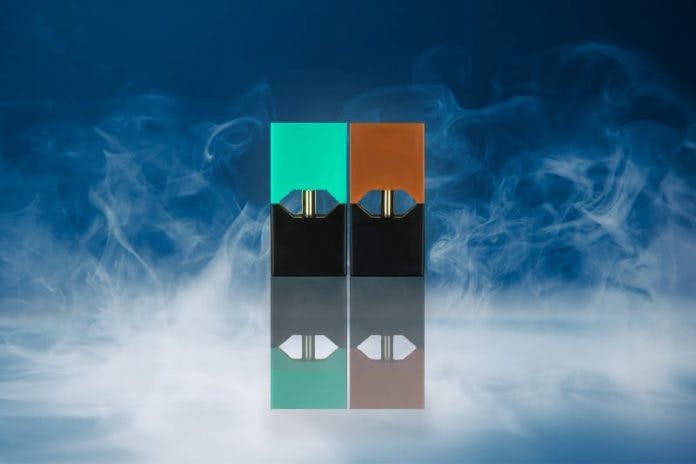 new juul pods less nicotine