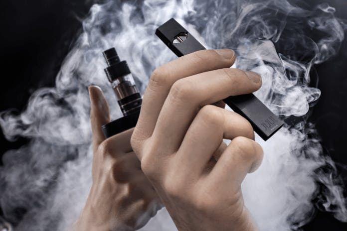 Vapers who cut their nic use more e-liquid