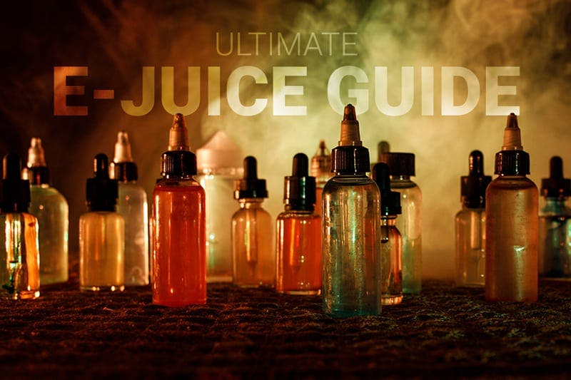 E Liquid Guide Ingredients Shelf Life Nic Strengths And