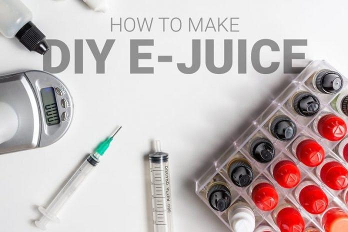 How to make DIY e-juice
