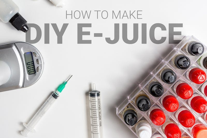 How To Make DIY E Juice A Beginners Guide