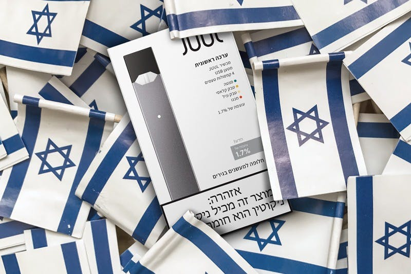 JUUL Will Sell Low-Nic Version in Israel After Court Loss