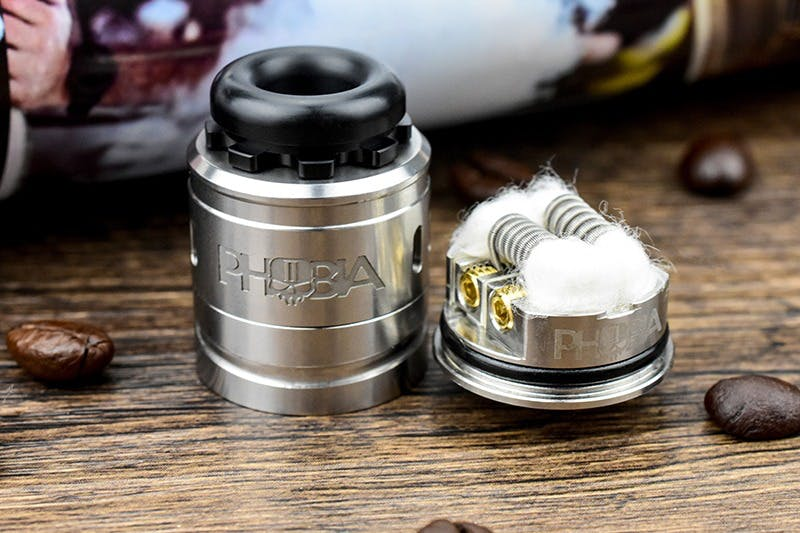 Vandy Vape Phobia V2 RDA Review | Features & First Impressions