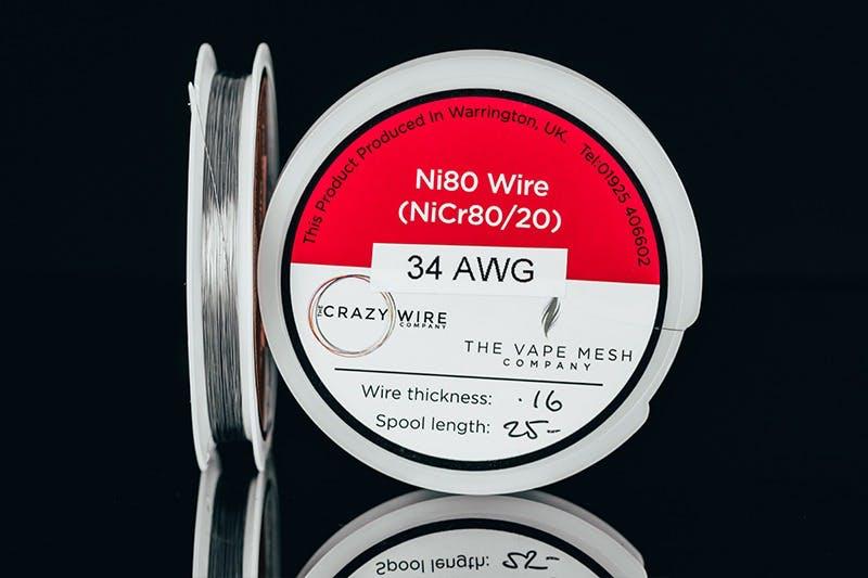 vape wire types - nichrome