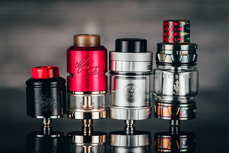 RBA Vape Guide: RDA, RTA, RDTA, and More