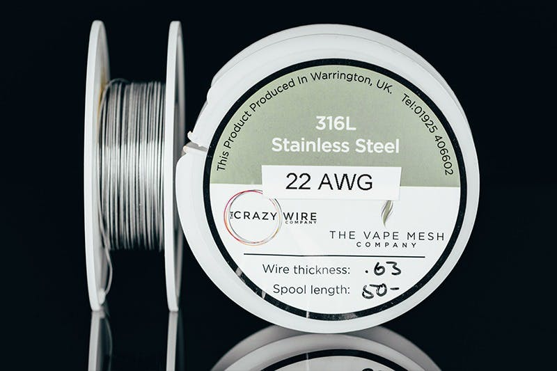 vape wire types - stainless-steel
