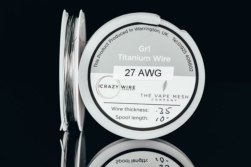 vape wire types - titanium