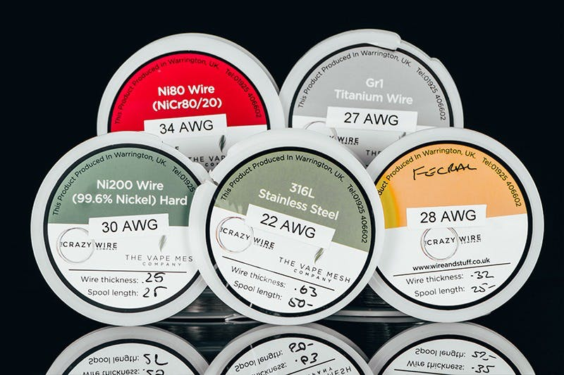 Vape Wires: Kanthal, Nichrome, Stainless Steel and More