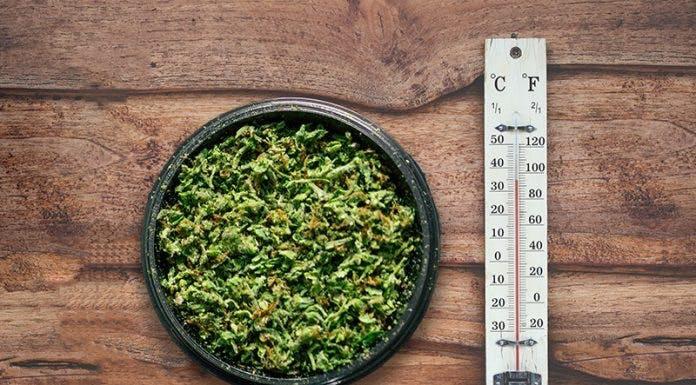 Optimal temperature to vape weed