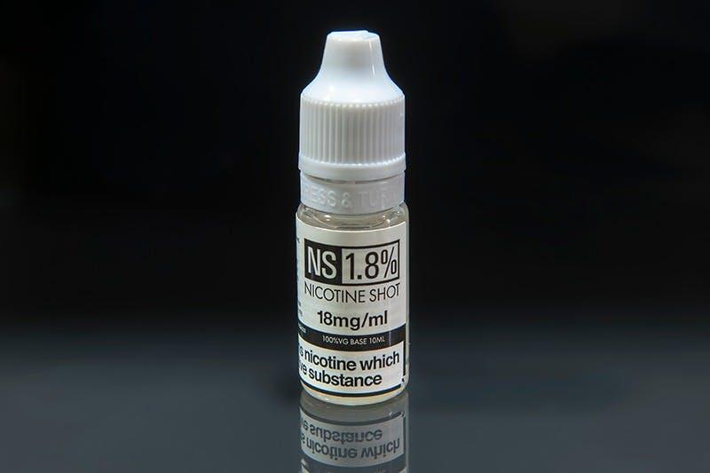 nicotine shortfill shot