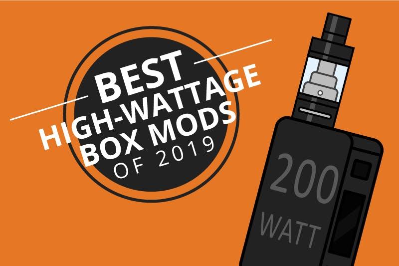 Best Box Mods 2020.The 7 Best 200w Mods For High Wattage Vaping 2019 Dec
