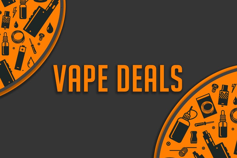 Best Weekly Vape Deals from Around the Web [Weekly Updates]
