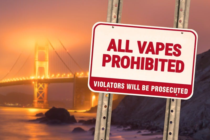 San Francisco Will Become the First City to Ban All Vape Sales