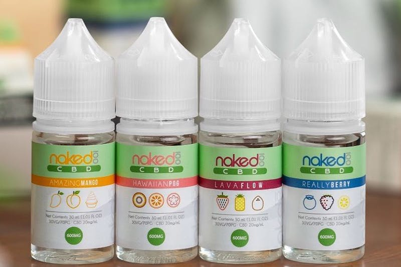 Naked 100 CBD | Your Favorite Tropical Flavors Now with CBD
