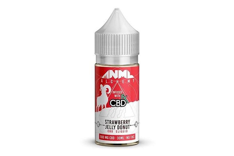 CBDfx ANML Alchemy Strawberry Jelly Donut